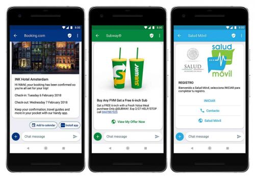 Google RCS messaging to be used by businesses to make messages better