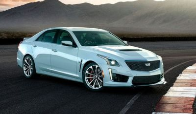2018 Cadillac CTS-V Glacier Metallic Edition Celebrates Brand's 115th Birthday