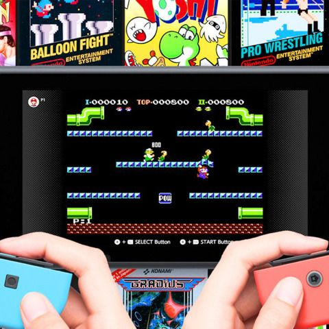 Playing NES Classic Games On The Nintendo Switch