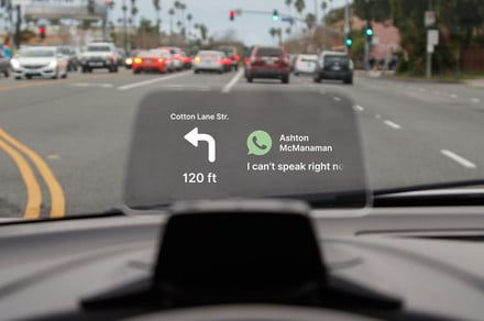 The Hudway Drive head-up display brings 21st-century tech to any type of car