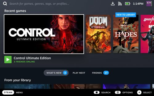 Steam Deck can handle entire Steam library claims Valve