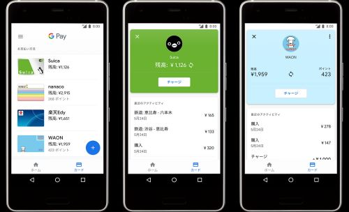 Now you can add Suica and WAON to Google Pay in Japan