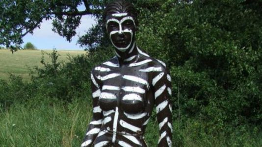 Body Painting Might Protect You From Insect Bites, Study Finds