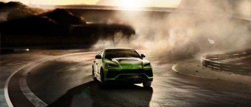 Lamborghini Urus ST-X Concept is a road course dominating SUV