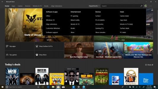 Windows 10's Microsoft Store will be better organized to help you find deals