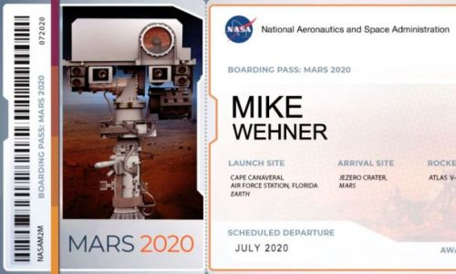 NASA will send your name to the Red Planet on the Mars 2020 rover