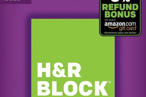 Get 33% Off H&R Block's Federal & State Tax Software, Plus a 5% Amazon Bonus