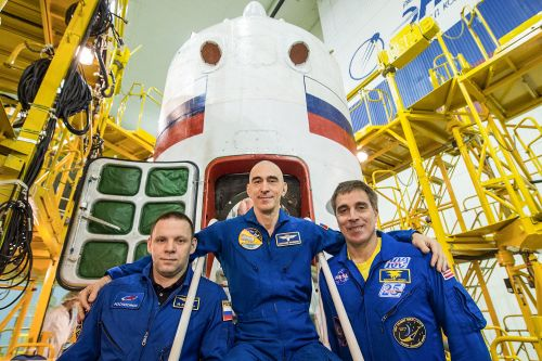 You can watch 3 astronauts launch to the space station early Thursday. Here's how