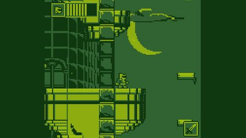 Destroy Space Aliens Is A Game Boy Adventure Of Clearing Castles Of Alien Nuissances