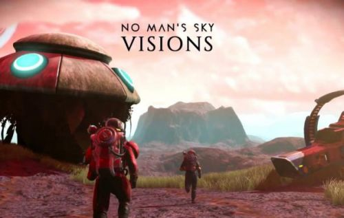 No Man's Sky Visions update is going to be huge