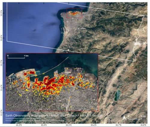 Beirut Explosion as Seen From the Space: NASA Maps Eerie Extent of the Damage