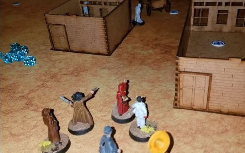 The Wild West Meets Vampires in Miniature Form in DRACULA'S AMERICA