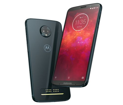 Moto Z3 Play features dual rear cameras and Moto Mod support, unlocked model coming this summer