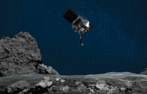 NASA grabbed a bunch of space rock material, and that's awesome
