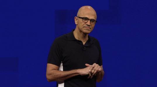 Microsoft is crushing it, topping $100 billion in annual revenue for the first time