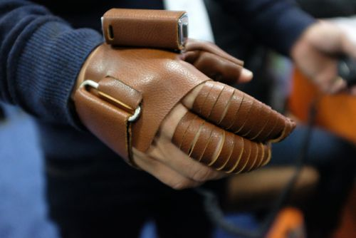The NeoMano robotic glove brings control back to paralyzed hands