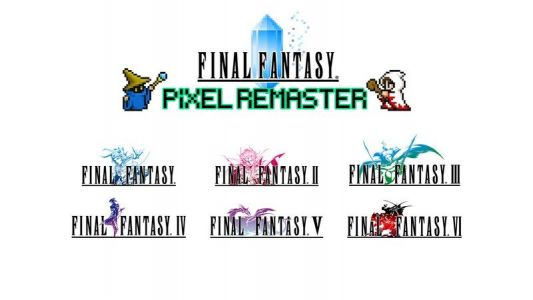 Final Fantasy Pixel Remaster lets you play the six original games on mobile