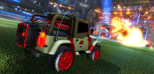 Jurassic Park welcomed to Rocket League in next DLC