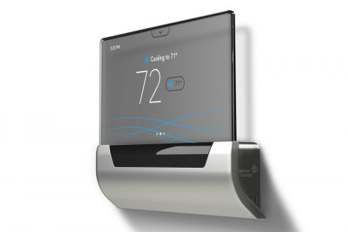 That fancy Cortana thermostat now supports Alexa and Google Assistant