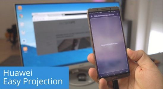 Huawei collaborated with Project Phoenix Devs to bring life to Mate 10's Projection Feature