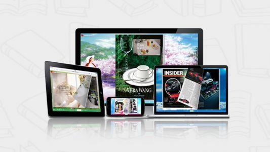 Jazz up your site with digital books and magazines