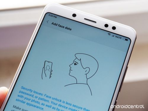 How to set up and use Face Unlock on the Xiaomi Redmi Note 5 Pro