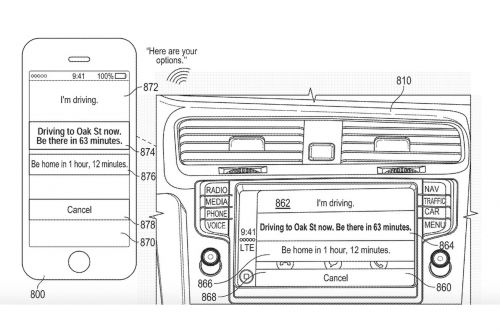Apple patent shows Siri providing smart replies when you can't answer the phone