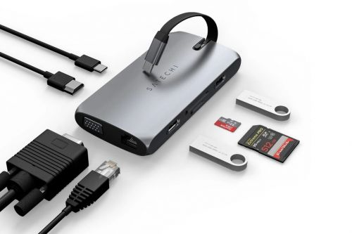 Satechi's latest USB-C hub supports 4K at 60Hz, and 100W pass-through