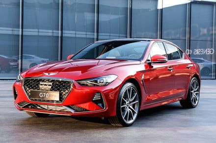 Genesis G70 luxury sedan has the BMW 3 Series in its sights