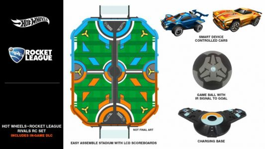 A ROCKET LEAGUE Table Top Game By Hot Wheels Will Be Available This Year