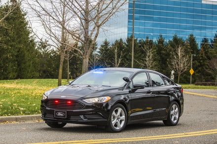 Ford Fusion Energi police car will clean up the streets and the environment