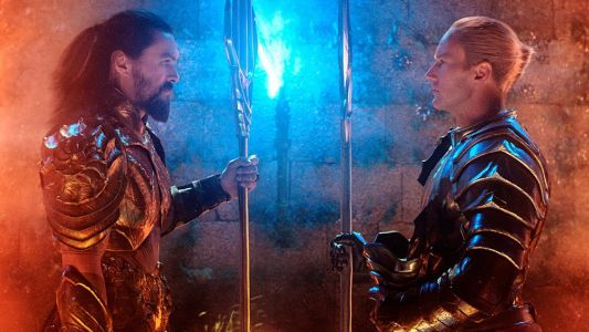 More Cool New AQUAMAN Photos Show Patrick Wilson's Orm Come Face to Face with Aquaman