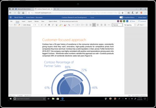 Microsoft gives Office a refreshed look and feel