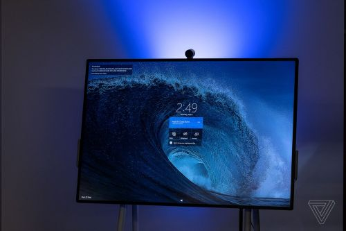 Microsoft Surface Hub 2 first look: a collaborative PC made for the future