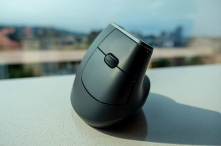 Logitech's distinctive new ergonomic mouse looks as good as it feels