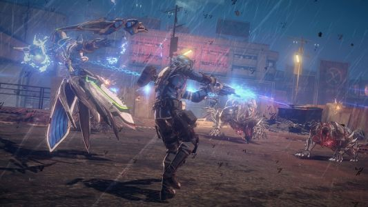 Switch Action Game Astral Chain Being Created As A Trilogy
