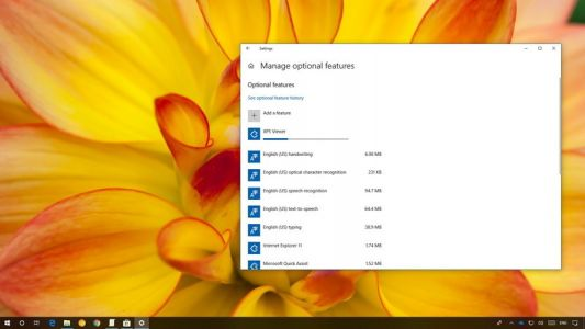 How to access XPS Viewer in the Windows 10 April 2018 Update
