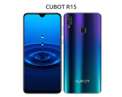 Budget CUBOT R15 coming in mid-March