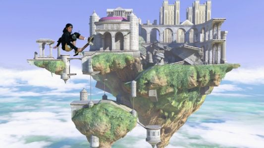 Super Smash Bros. Hyrule Stage Recreated In Tony Hawk's Pro Skater 1 + 2