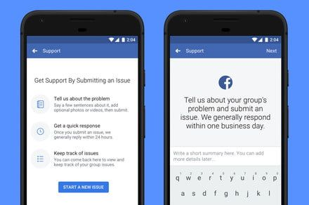 Facebook is busy enhancing two-factor authentication, group tools, and more