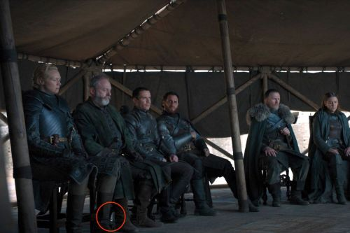 Game of Thrones' series finale left some plastic water bottles onscreen