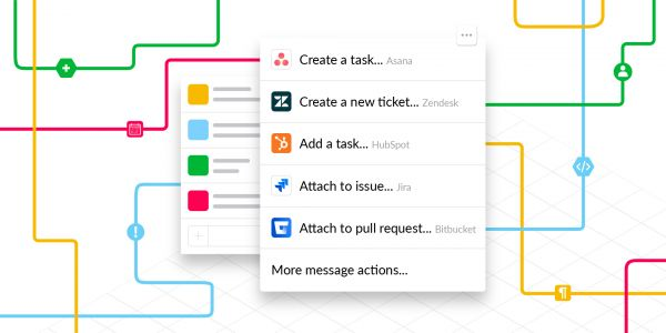 Slack introduces Actions to make it easier to create and finish tasks without leaving