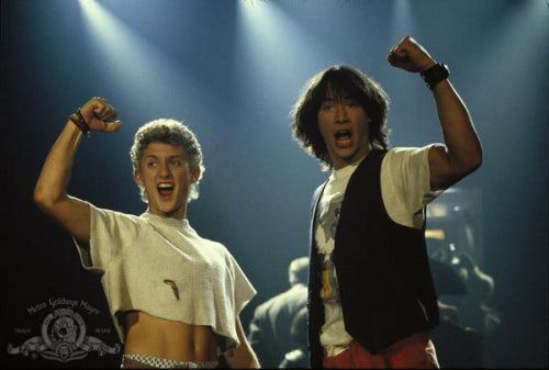 Bill and Ted Trilogy Writer Compares FACE THE MUSIC to the First Two Films in the Series in Twitter Reply to Fan