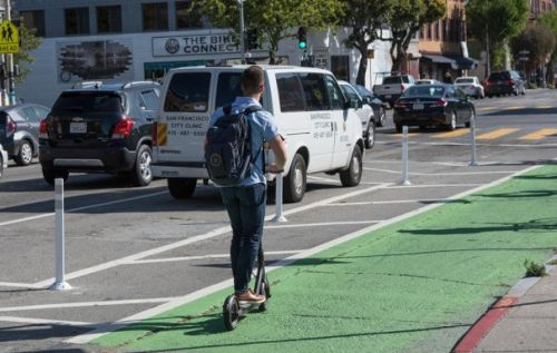 San Francisco tackles electric scooter issue with permit process