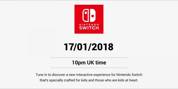 Nintendo's about to unveil something new for Switch that's aimed at kids, and no one knows what it is