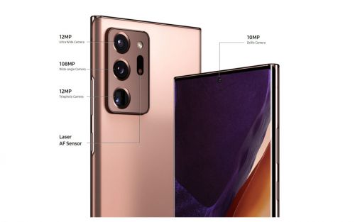 What camera does the Galaxy Note20 Ultra have?