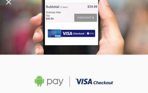 Android Pay Now Supports Visa Checkout For Online Payments