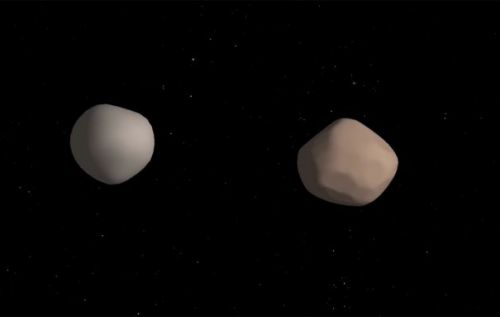 Rare near-Earth binary asteroid features two massive space rocks