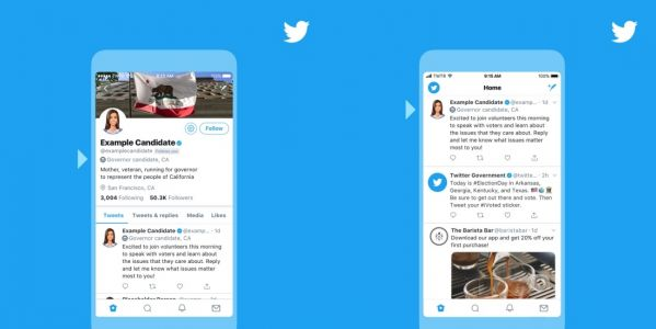Twitter introduces labels for US midterm election candidates