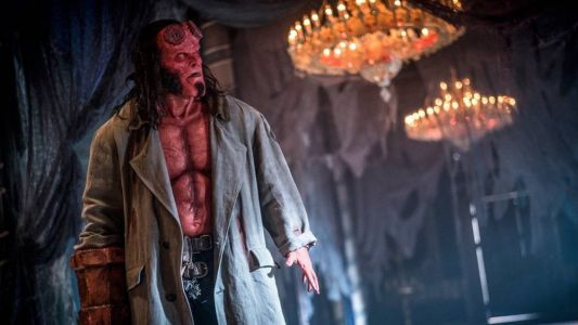 New Photo from HELLBOY and David Harbour Says He Didn't Want to Imitate Ron Perlman
